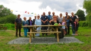 The Official Opening of fair Place Picnic Area