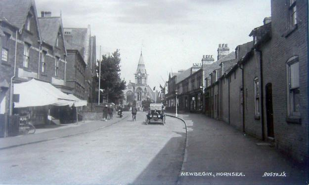 Newbegin looking east 1920