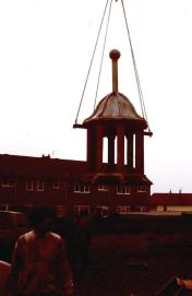 Granville Hotel - The Cupola being removed